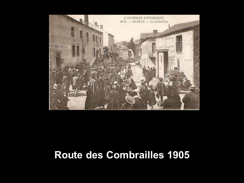 Route des Combrailles 1905