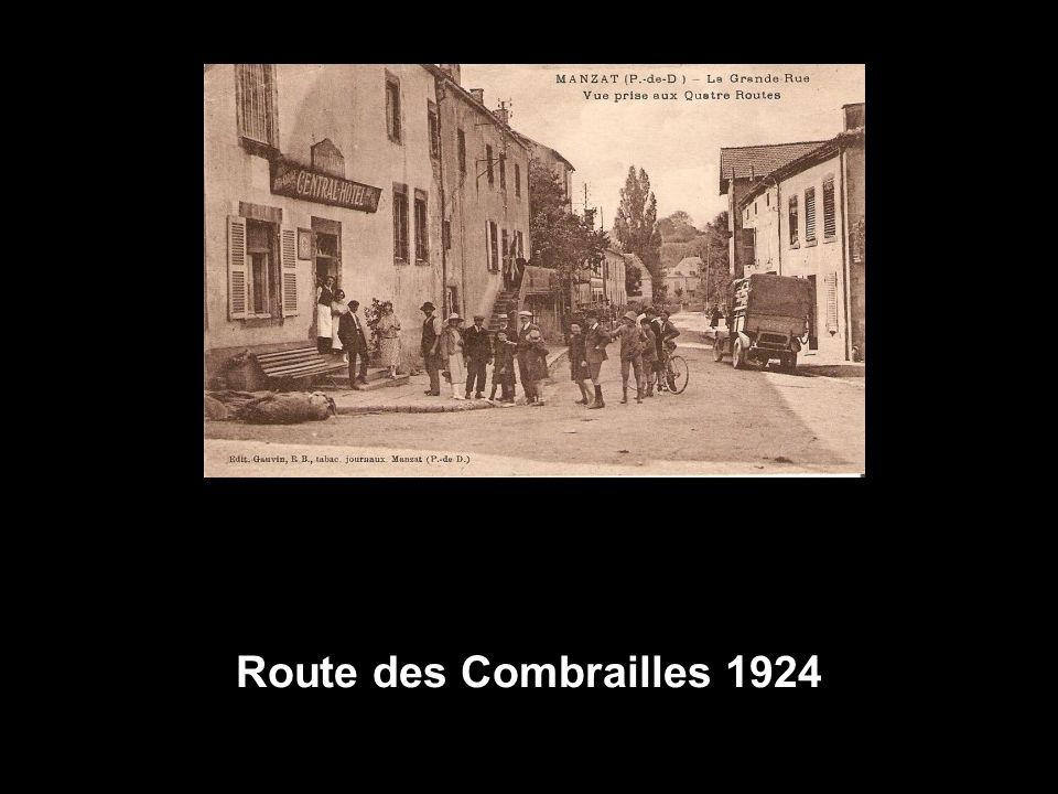 Route des Combrailles 1924