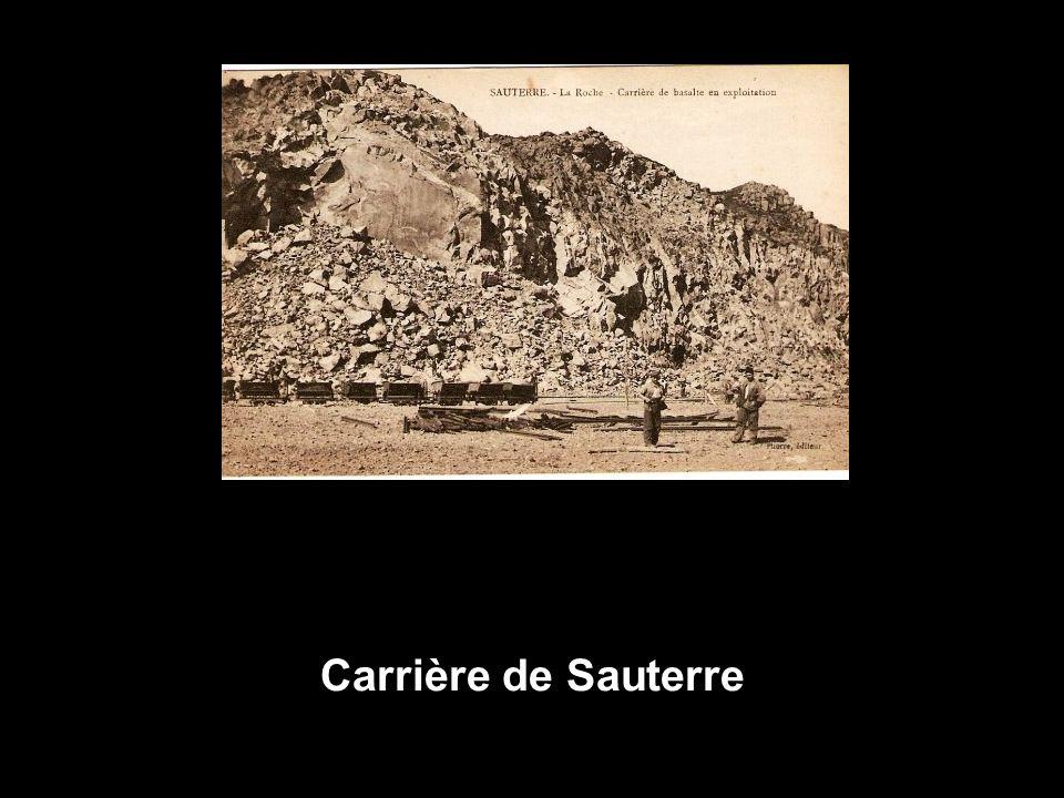 Carrière de Sauterre