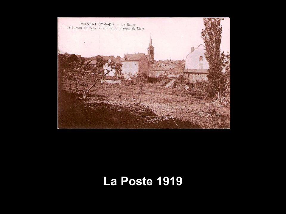 La Poste 1919