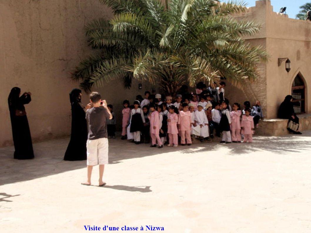 Visite d une classe à Nizwa