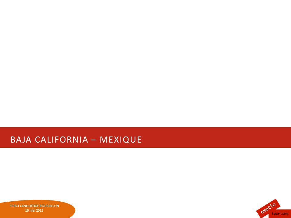 Baja California – Mexique