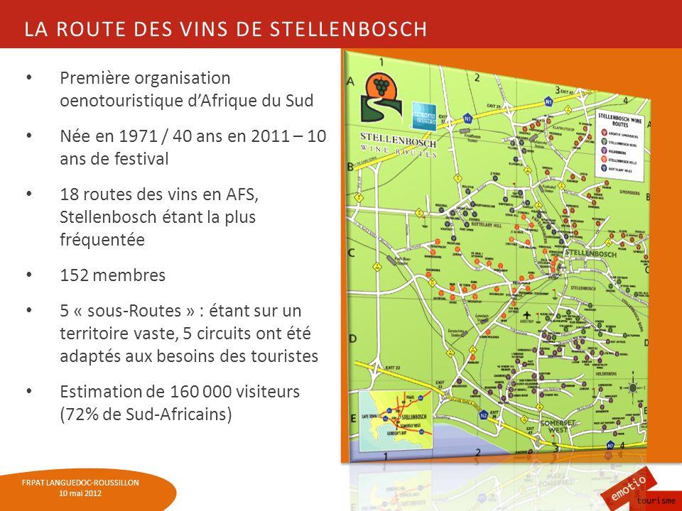 La route des vins de Stellenbosch