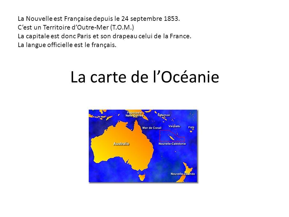 La Nouvelle est Française depuis le 24 septembre 1853.