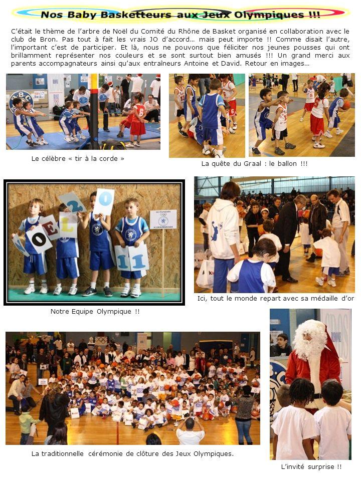 Nos Baby Basketteurs aux Jeux Olympiques !!!