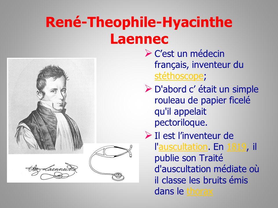 René-Theophile-Hyacinthe Laennec