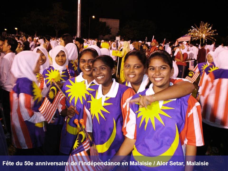 Fête du 50e anniversaire de l indépendance en Malaisie / Alor Setar, Malaisie