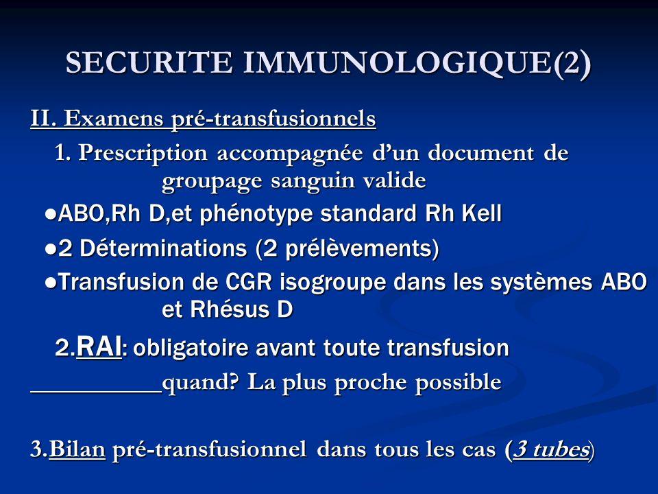 SECURITE IMMUNOLOGIQUE(2)