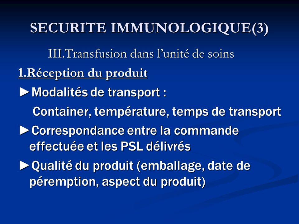 SECURITE IMMUNOLOGIQUE(3)