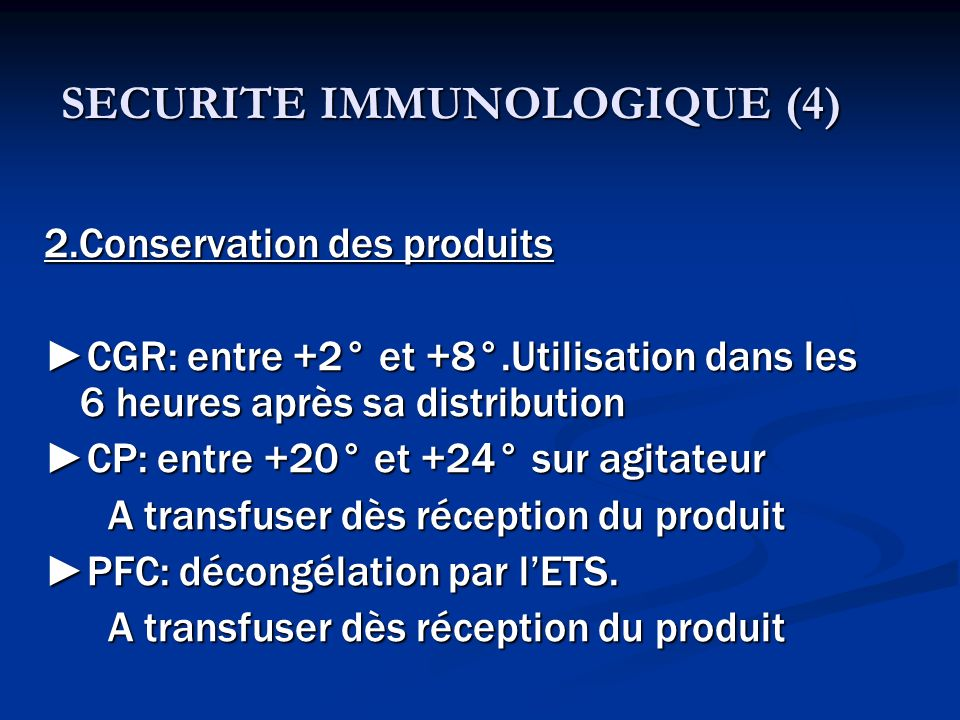 SECURITE IMMUNOLOGIQUE (4)