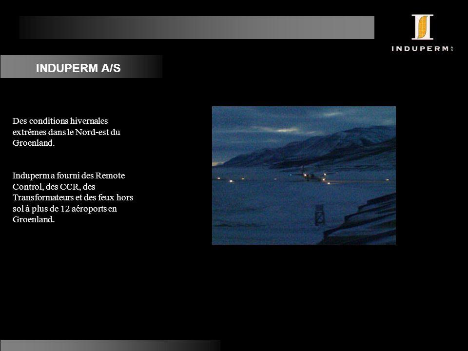 INDUPERM A/S Des conditions hivernales extrêmes dans le Nord-est du Groenland.