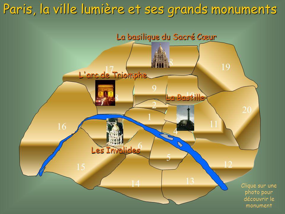 Clique sur une photo pour découvrir le monument