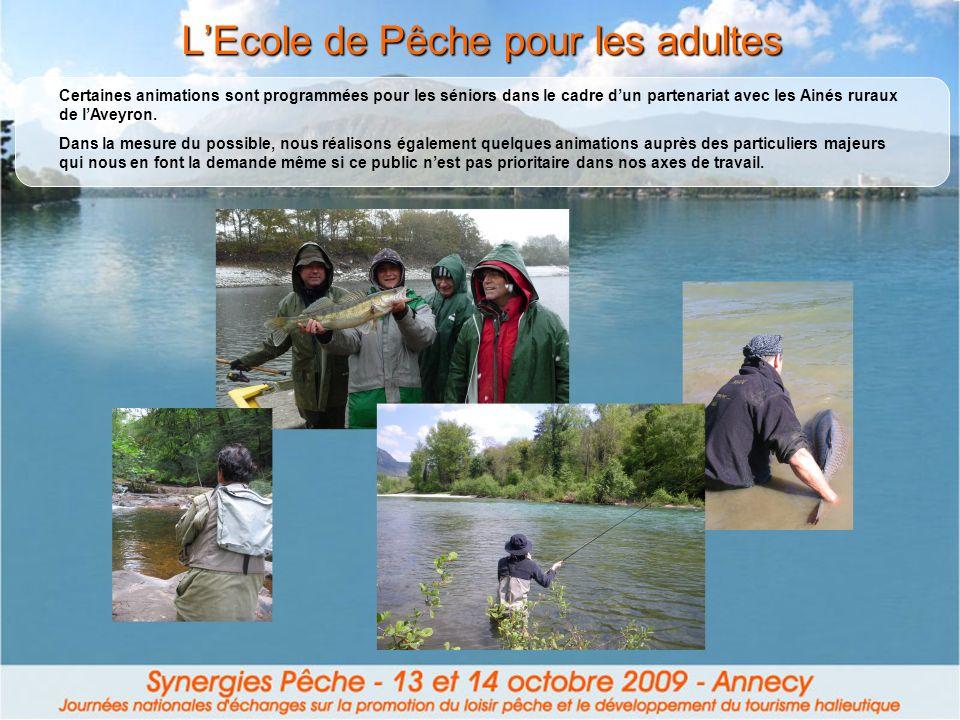 L'Ecole de Pêche pour les adultes