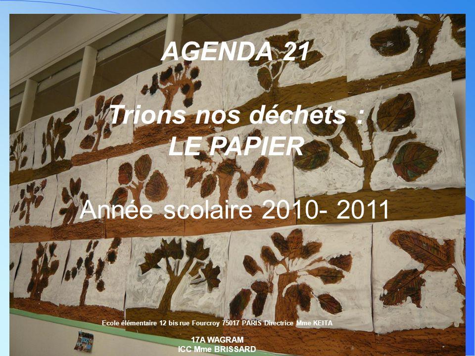 Ecole élémentaire 12 bis rue Fourcroy 75017 PARIS Directrice Mme KEITA