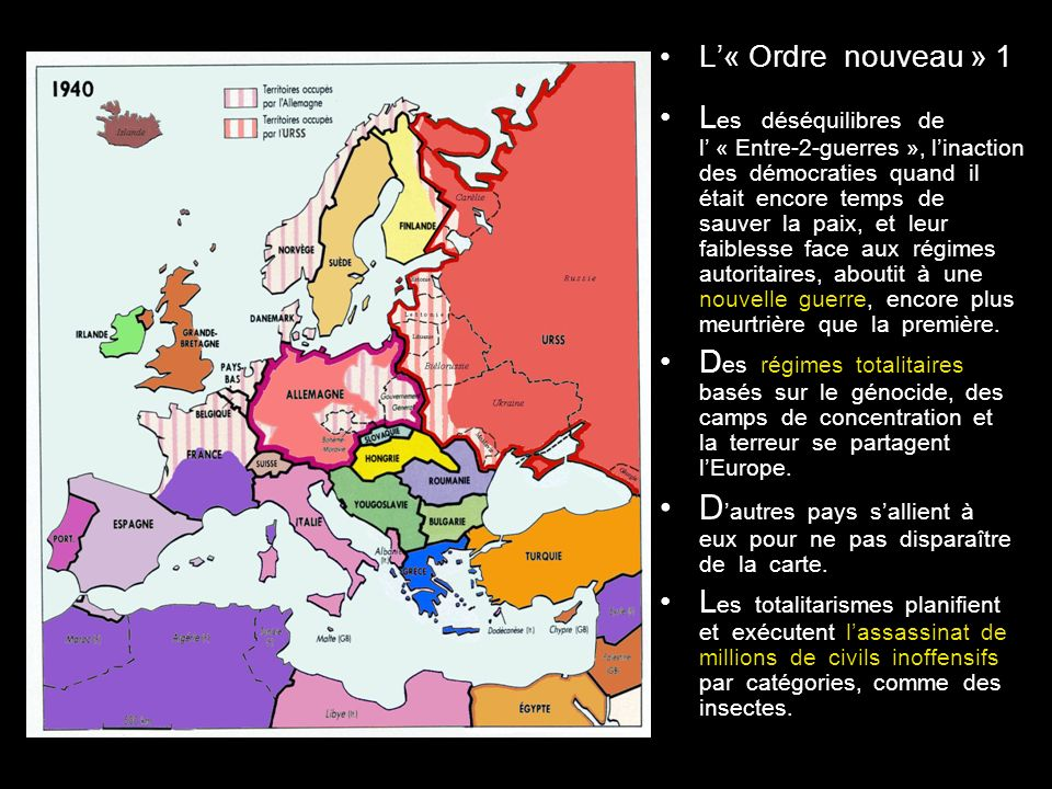 D'autres pays s'allient à eux pour ne pas disparaître de la carte.
