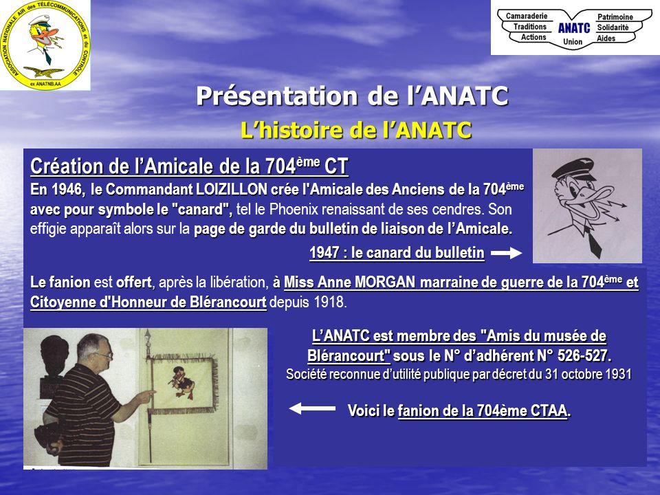 Présentation de l'ANATC