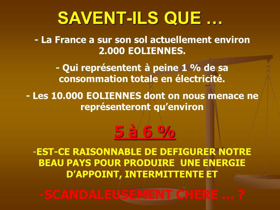 SAVENT-ILS QUE … SCANDALEUSEMENT CHERE …