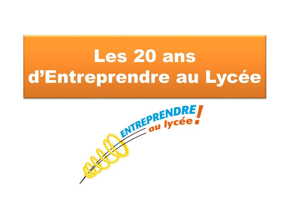 Les 20 ans d'Entreprendre au Lycée