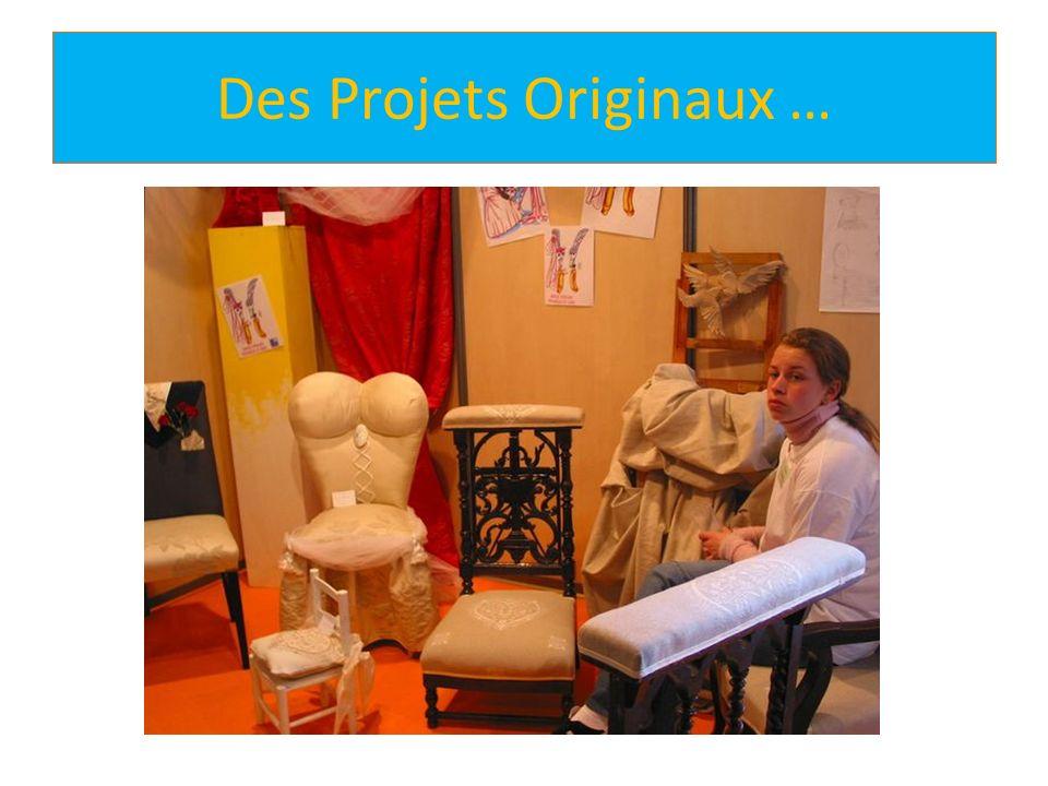Des Projets Originaux …
