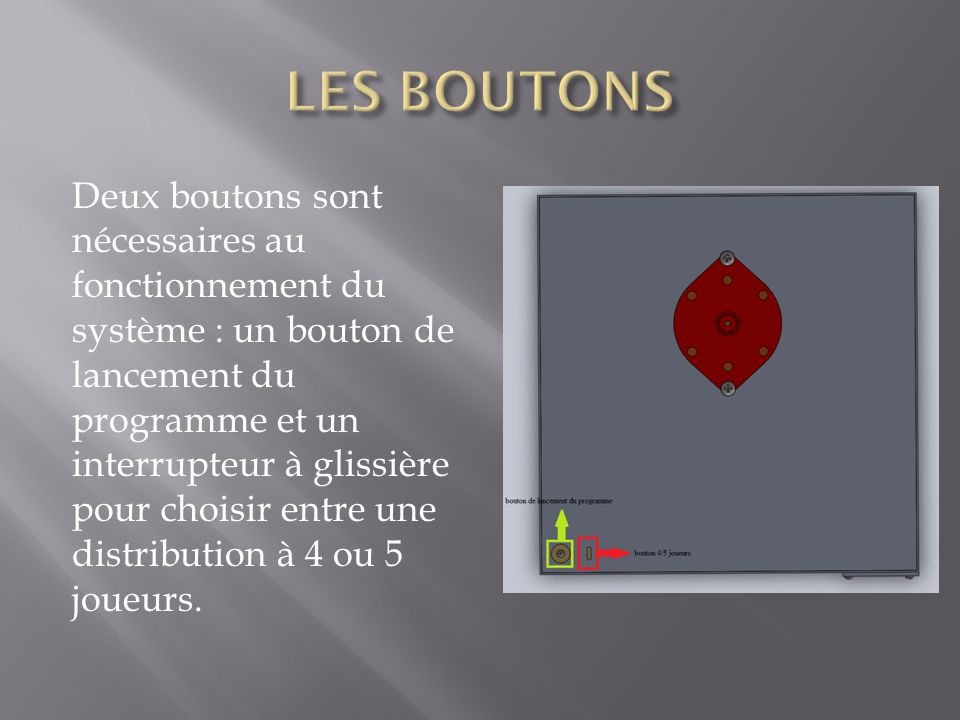 LES BOUTONS