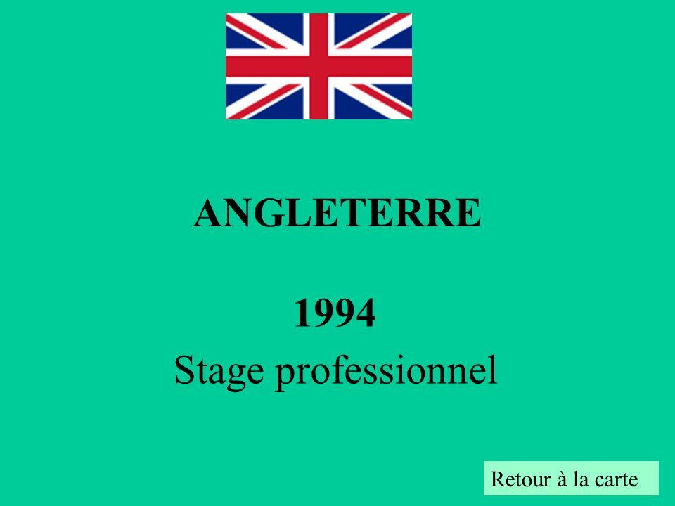 ANGLETERRE 1994 Stage professionnel Retour à la carte