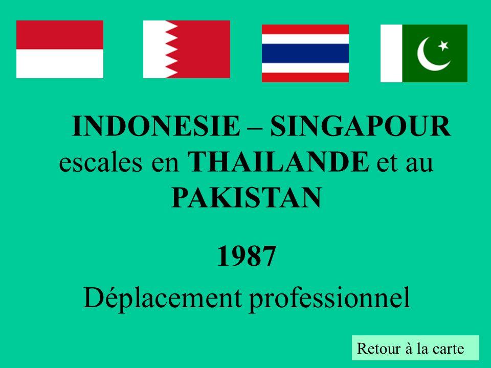 1987 Déplacement professionnel