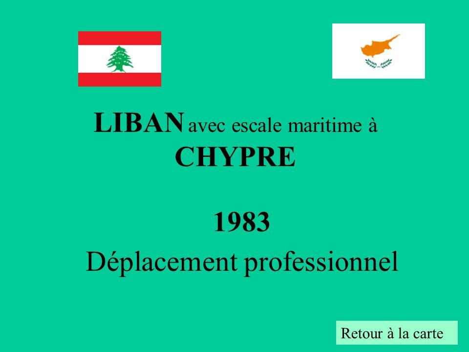 1983 Déplacement professionnel