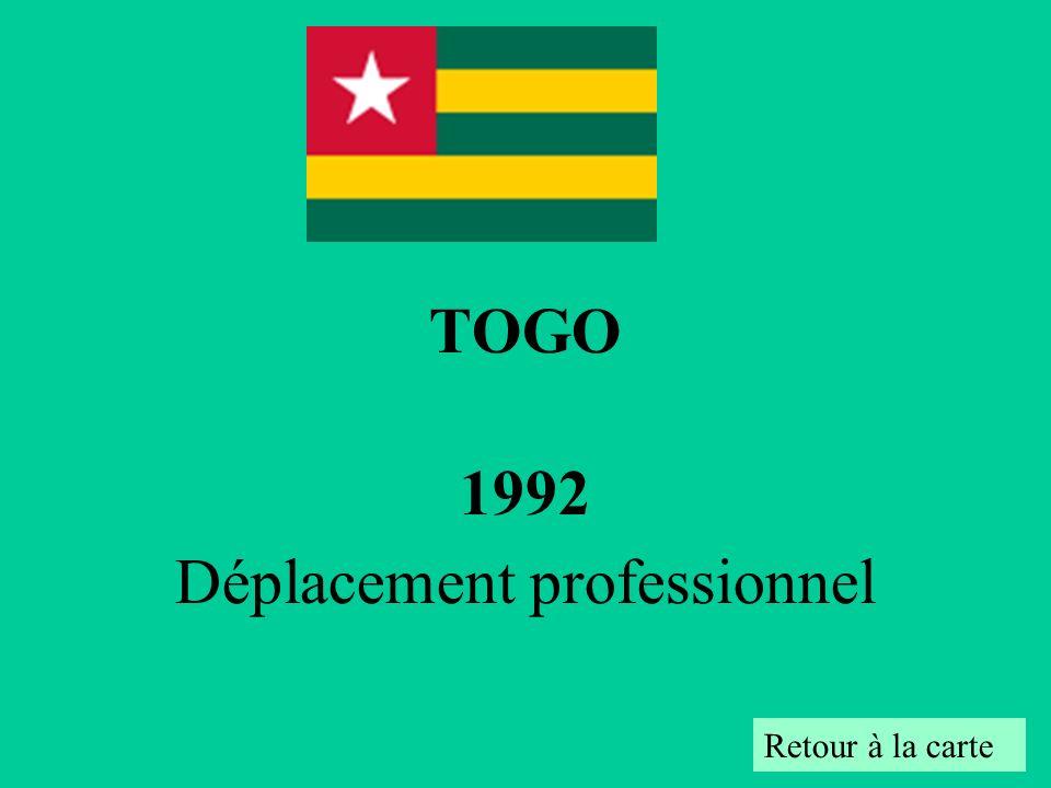 1992 Déplacement professionnel