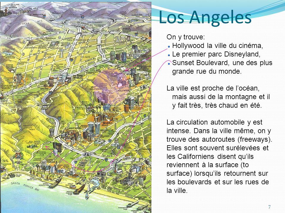 Los Angeles On y trouve: Hollywood la ville du cinéma,