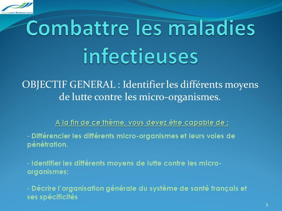 Combattre les maladies infectieuses