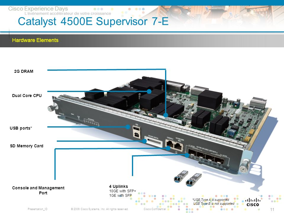 Catalyst 4500E Supervisor 7-E