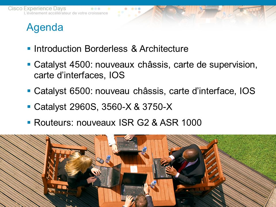 Agenda Introduction Borderless & Architecture