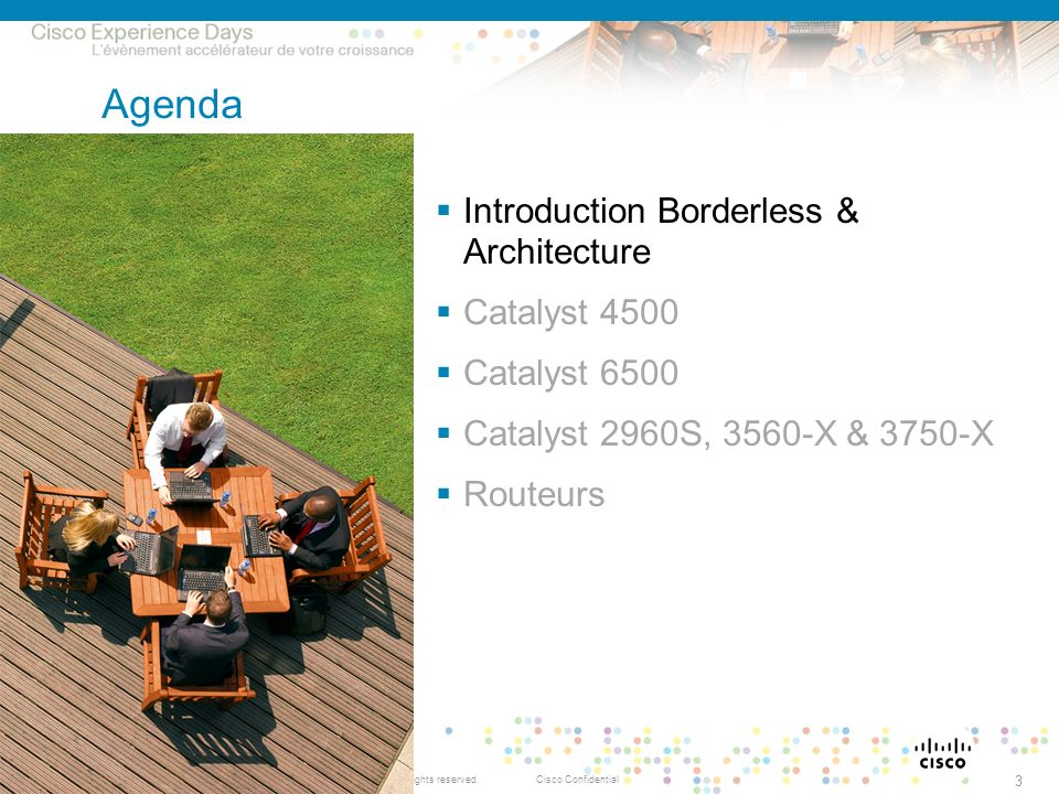Agenda Introduction Borderless & Architecture Catalyst 4500