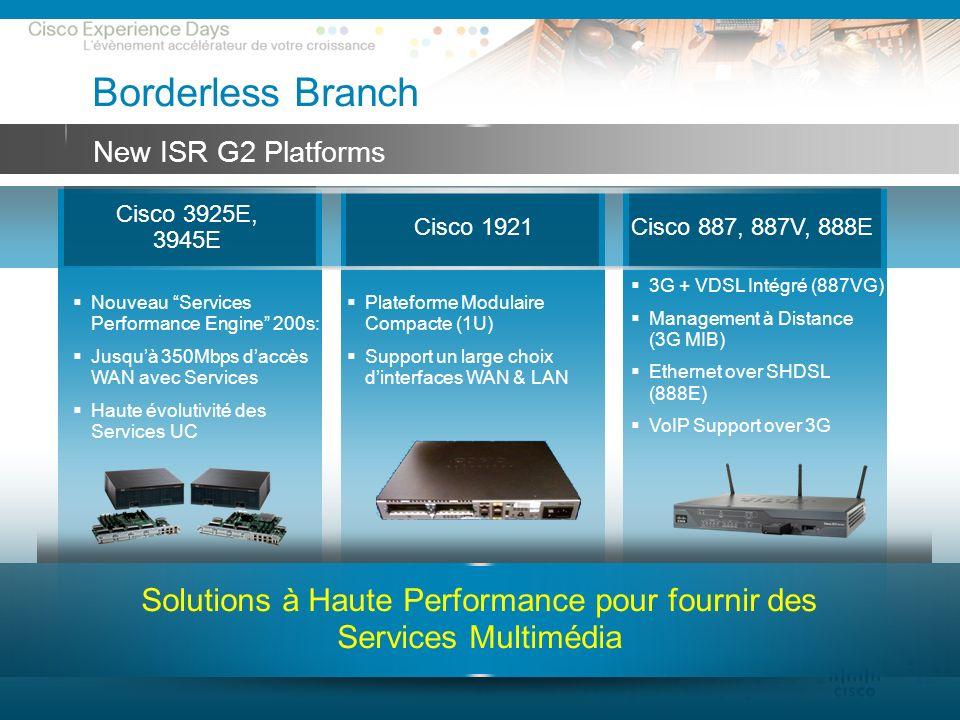 Solutions à Haute Performance pour fournir des Services Multimédia