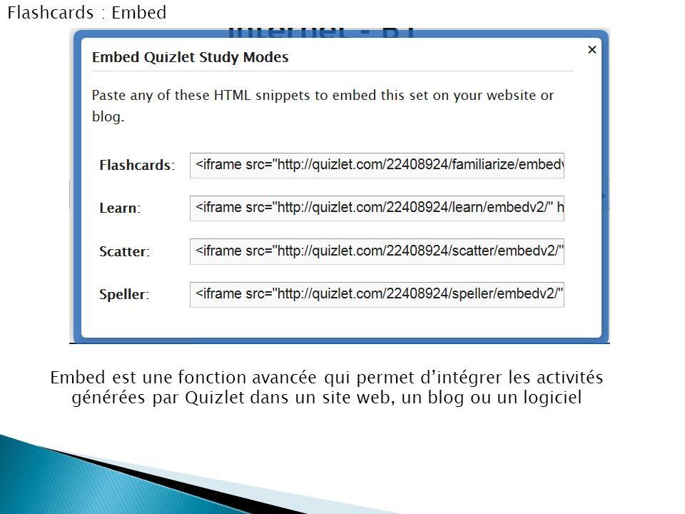 tutoriel quizlet outil en ligne d u2019aide  u00e0 la m u00e9morisation du lexique