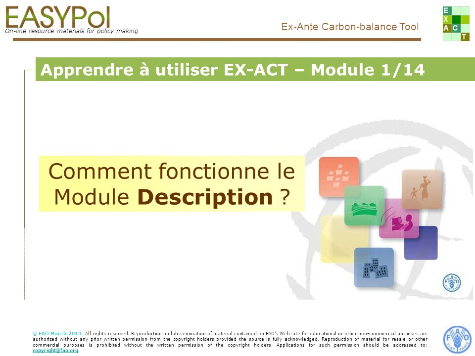 Comment fonctionne le Module Description