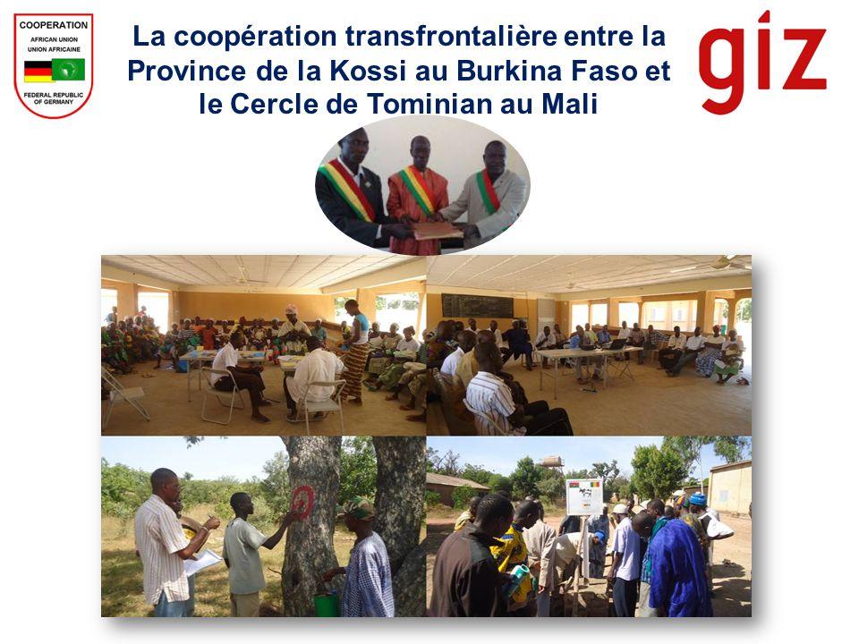 La coopération transfrontalière entre la Province de la Kossi au Burkina Faso et le Cercle de Tominian au Mali