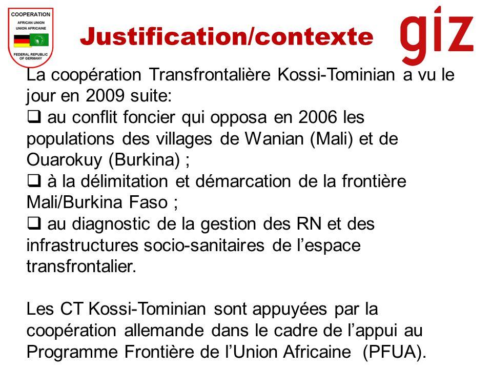 Justification/contexte