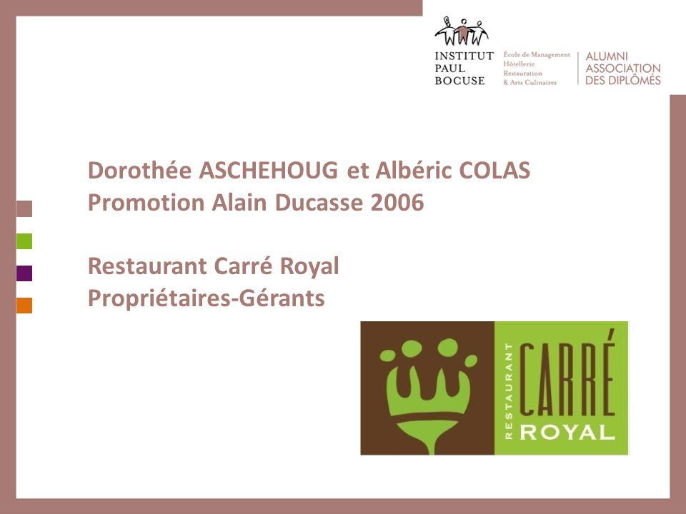 Dorothée ASCHEHOUG et Albéric COLAS