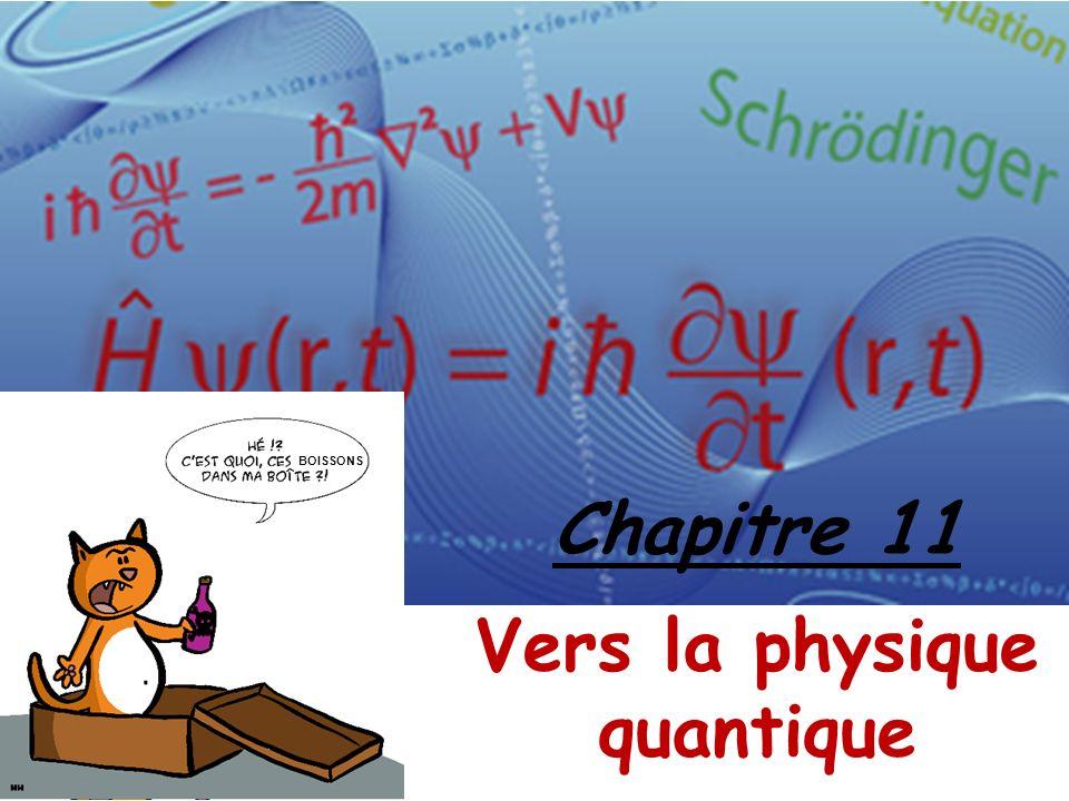 Chapitre 11 Vers la physique quantique