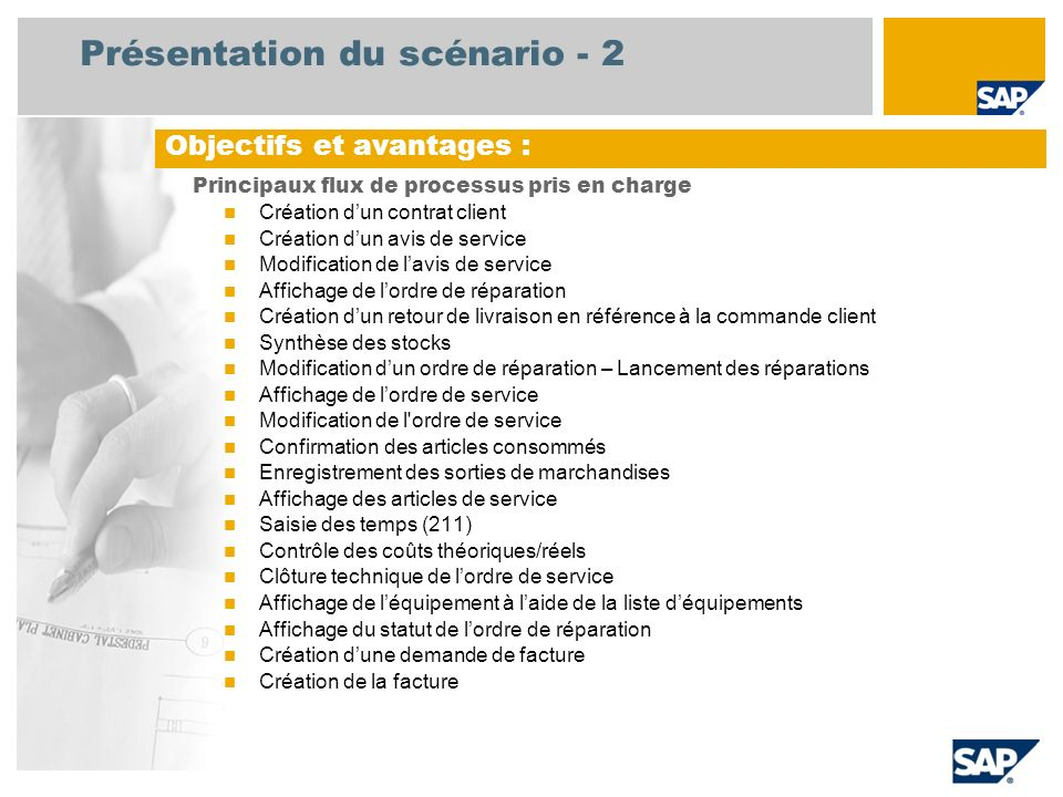 R paration en atelier sap best practices baseline package belgique ppt video online t l charger - Reparation a la charge du proprietaire plomberie ...