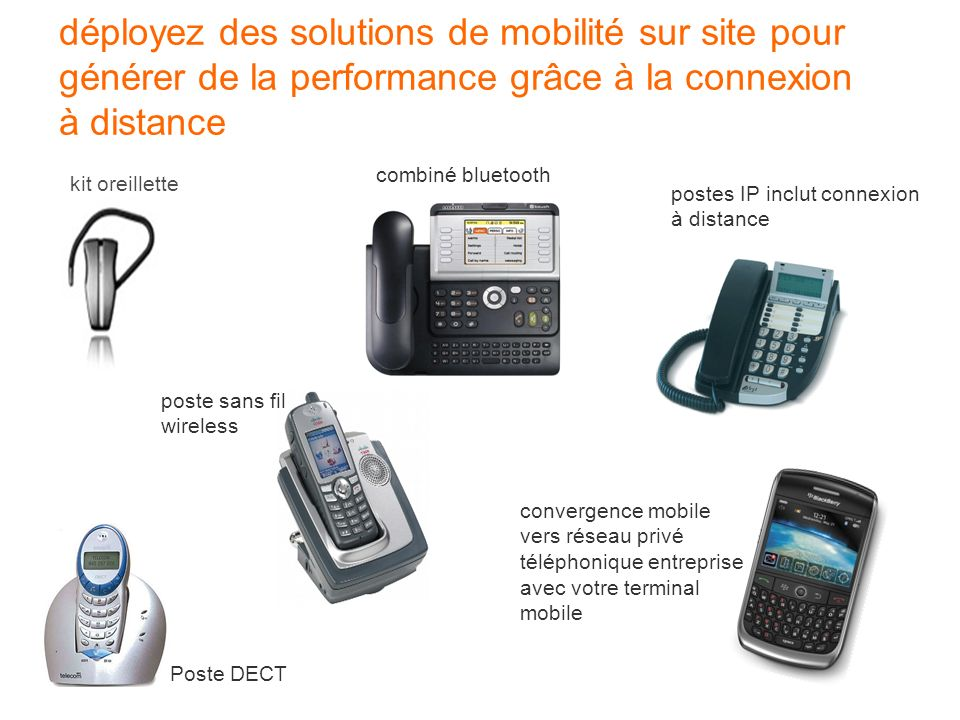 déployez des solutions de mobilité sur site pour générer de la performance grâce à la connexion à distance