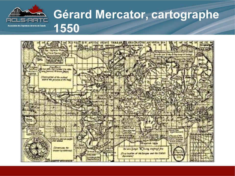 Gérard Mercator, cartographe 1550