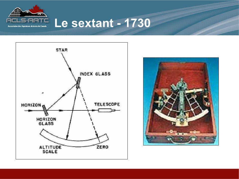 Le sextant - 1730