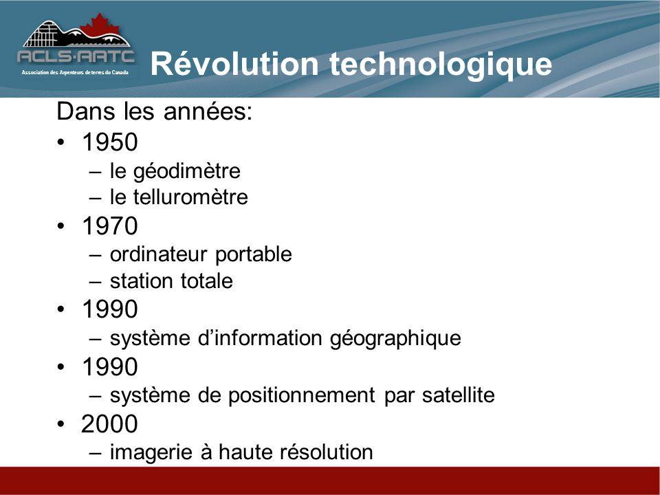 Révolution technologique