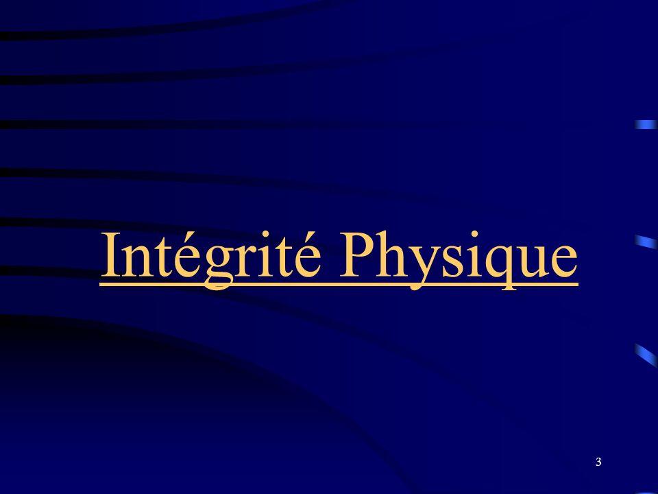 Intégrité Physique