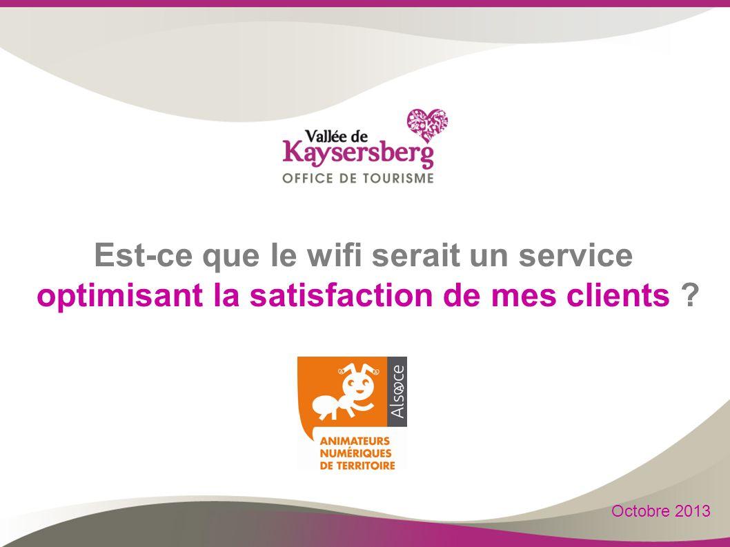 Est-ce que le wifi serait un service optimisant la satisfaction de mes clients