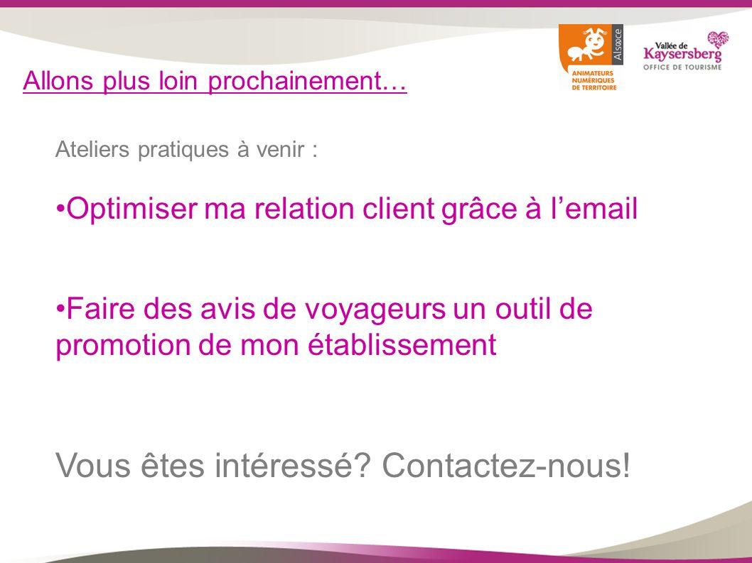Vous êtes intéressé Contactez-nous!
