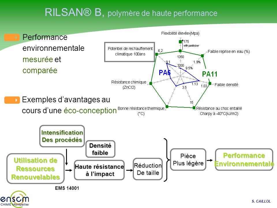 RILSAN® B, polymère de haute performance