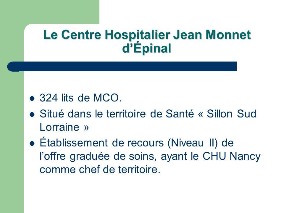Le Centre Hospitalier Jean Monnet d'Épinal